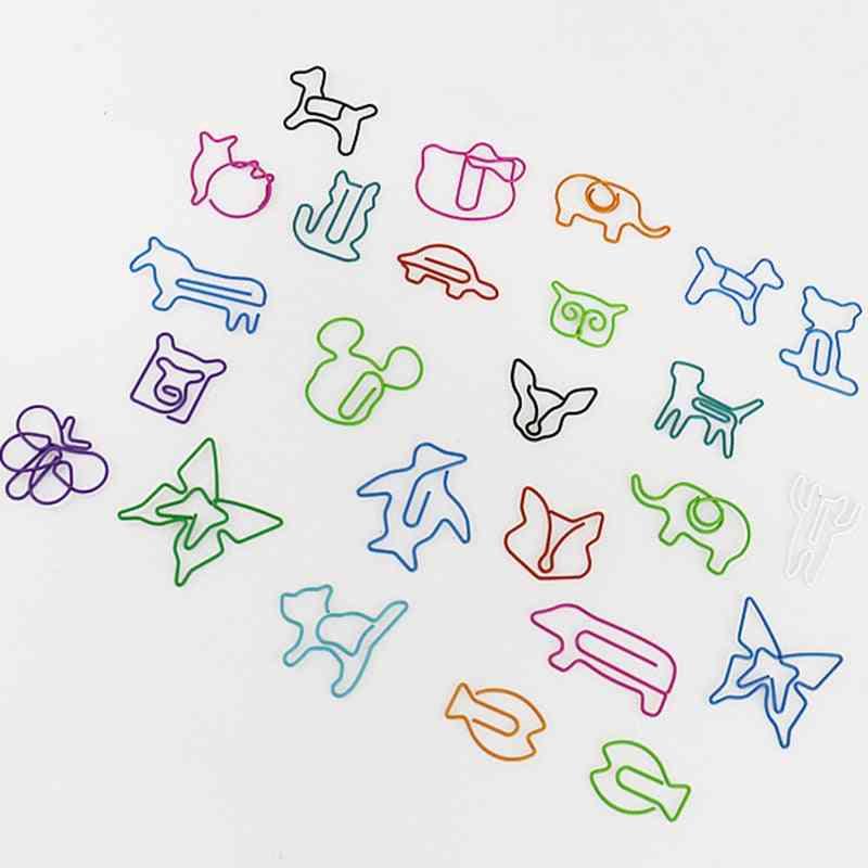 Cute Cartoon Animal/memo Shaped Paper Clips