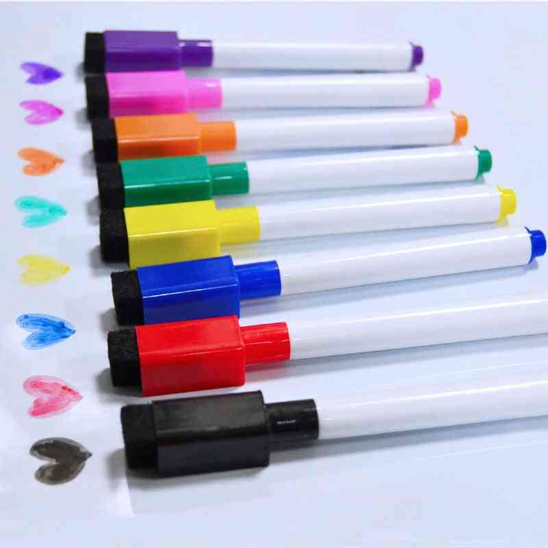 Magnetic Whiteboard Pen, Drawing And Recording Erasable Dry Markerss