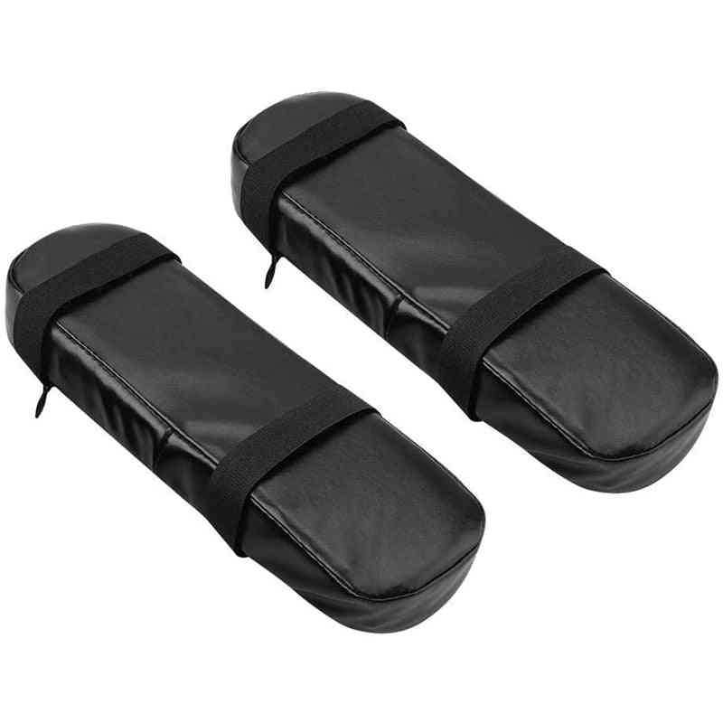 Memory Foam Armrest Pads - Soft Office Chair Elbow Supporting Pu Leather Cushion