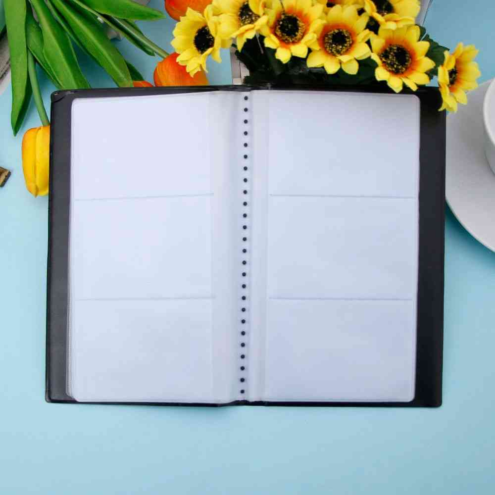 Business Name, Id, Credit Holder, Useful Case, Book Organizer, Cards