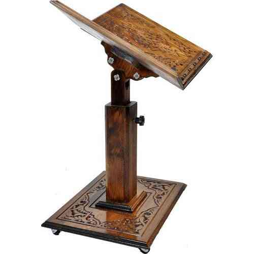 Wood-lectern Quran-reading Stand