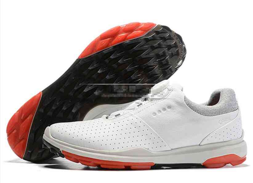Men Golf Sports Leather Shoes