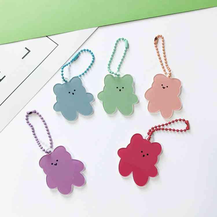 Soft Candy Bear Key Chain, Pencil Case Mobile Phone Earphone Pendant