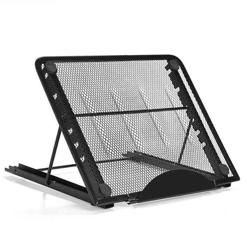 Adjustable Height Laptop Stand Folding Portable Cooling Holder