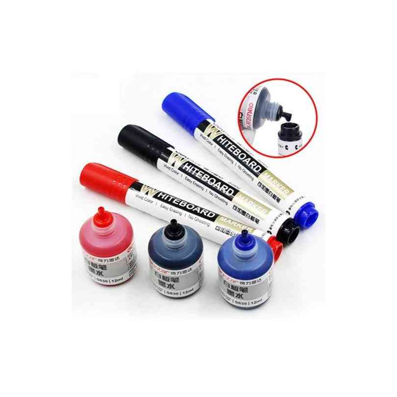 Erasable Whiteboard Marker Pen And Ink Bottle