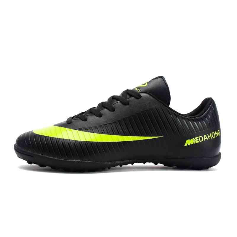 Professional Men Turf Indoor Soccer Shoes, Cleats Original Superfly Futsal Football Boots