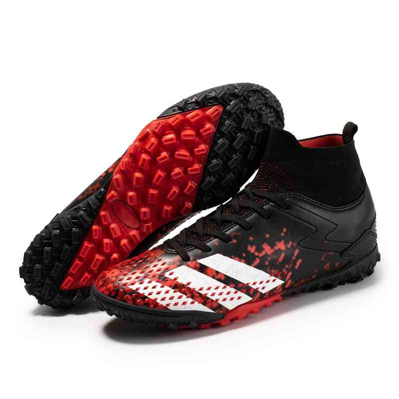 Football Boots Outdoor High Top Sneakers, Soccer Shoes