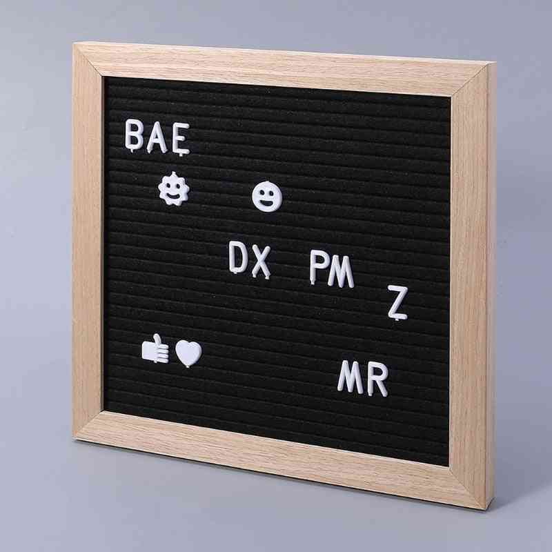 2pcs Characters For Felt Letter Board, Numbers For Changeable