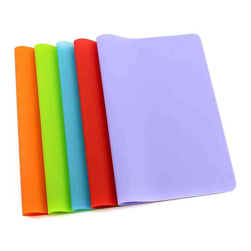 Soft Silicone Writing Pad, Non-slip, Desk Writing Mat Accessories