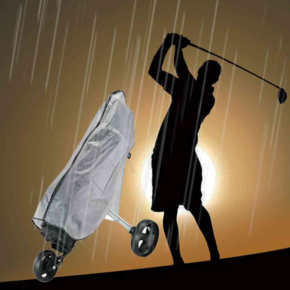 Rainproof Zipper Wear Resistant Golf Rain Cover Pvc Bag