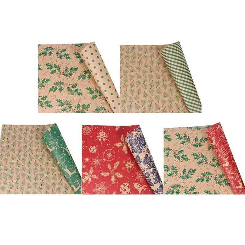 Wrapping Paper Roll- Kraft Bag