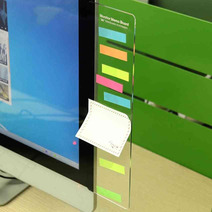Pc Screen Computer Monitors Message Memo Board