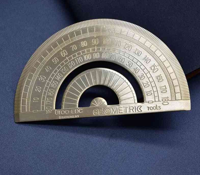 High Quality Copper Protractor-measuring Tools