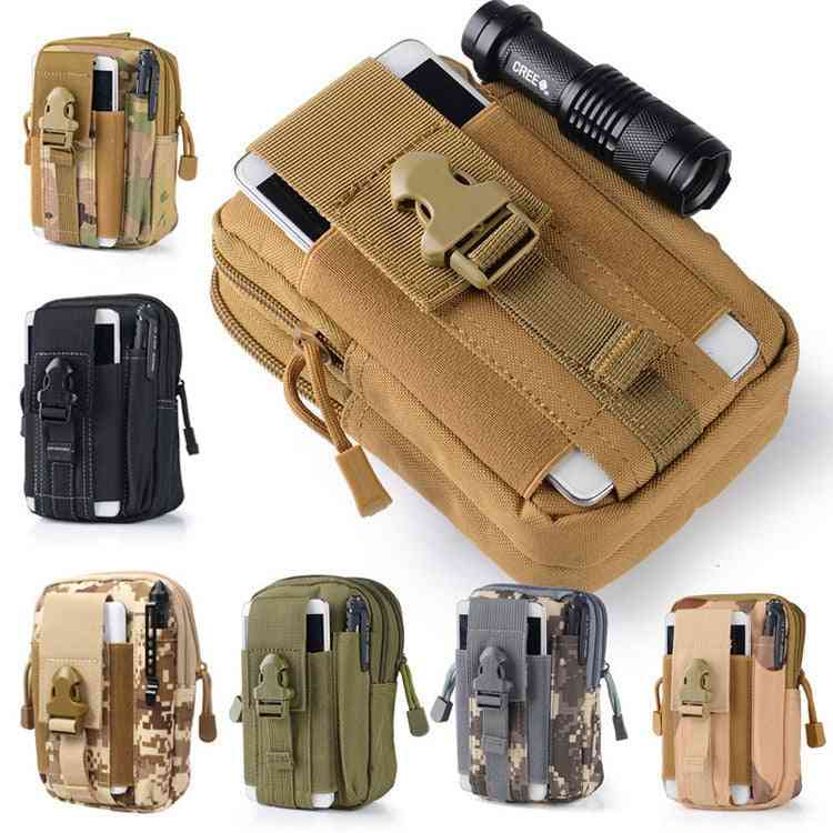 Men Tactical Pouch Belt Waist Pack Bag With Small Pocket