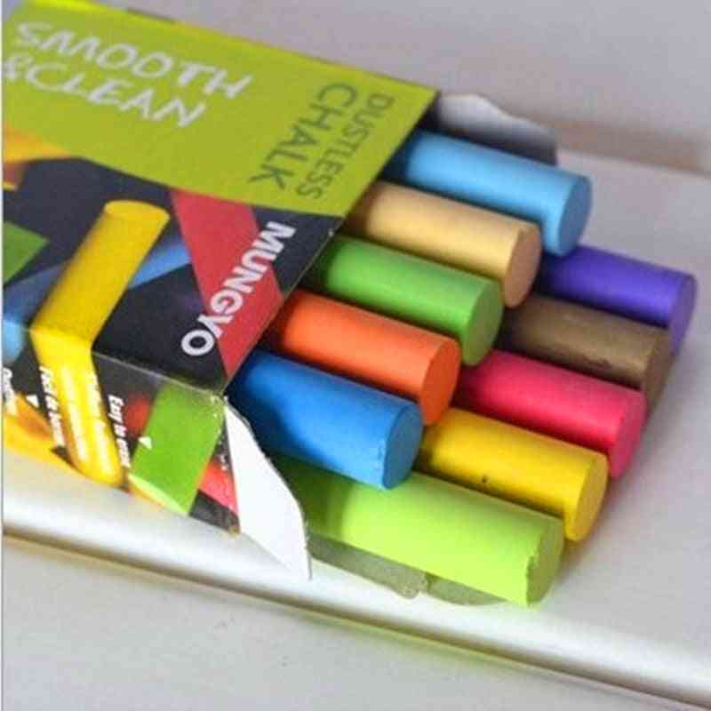 Safe, Smooth And Dustless Chalks