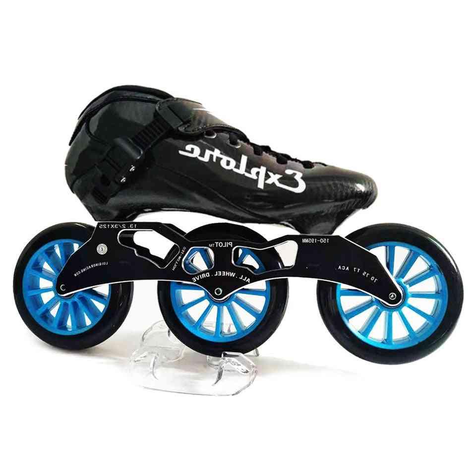Roller Wheels Street Racing - Skating Patines