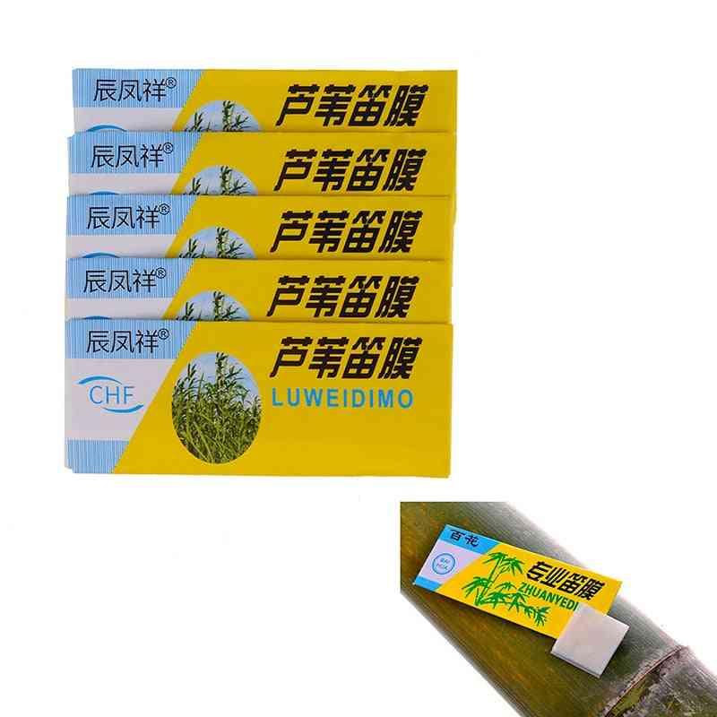 Dimo Special Natural Bamboo Flute, Diaphragm Dizi And Metal Flauta Membrane