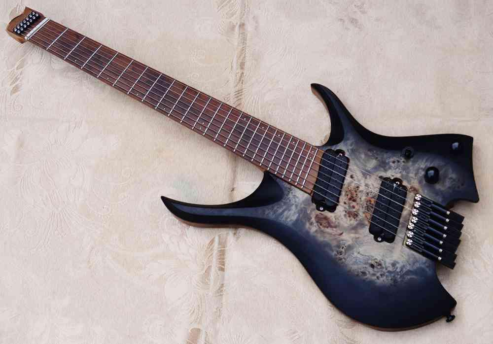 7 Strings Headless Electric Guitar