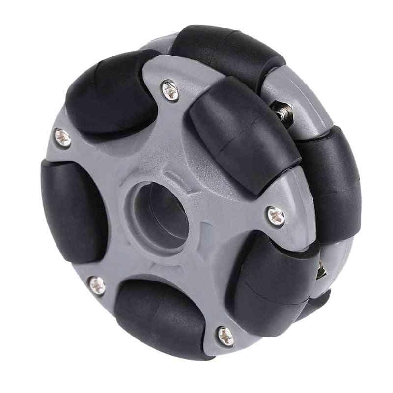 Plastic Omni Wheel For Robot Kit And Servo Motor