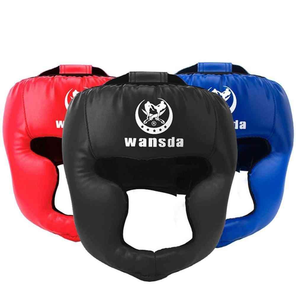 Kick Boxing Helmet And Women