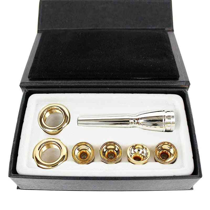 Mouthpiece For Bb Trumpet Plated Multi Purpose T-adapter Professional Lacquer Nozzle Part