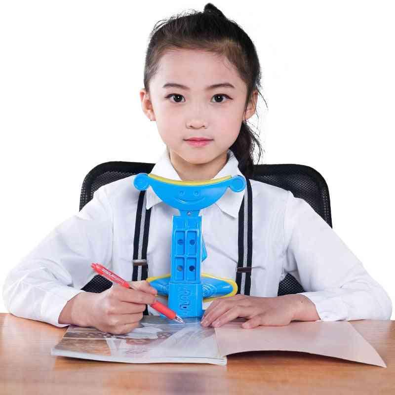 Children Sitting Posture Corrector, Anti?myopia Sitting Support Brace Writing Orthotic Instrument Kit