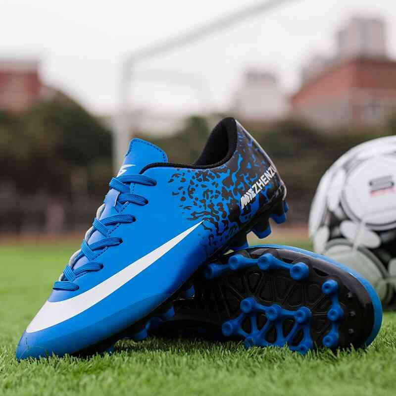 Men Soccer Shoes, Football Sneakers Turf Futsal Original Boots Comfortable Waterproof