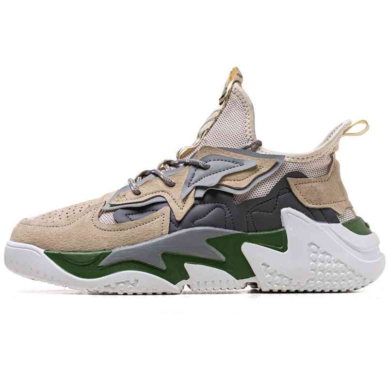 Outdoor Men's Basketball Shoes, Breathable Ankle Training Sneakers