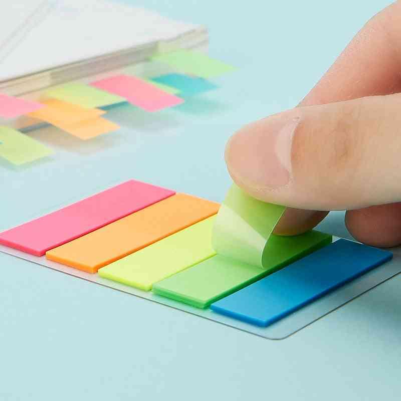 Creative Fluorescent Index Planner Stickers