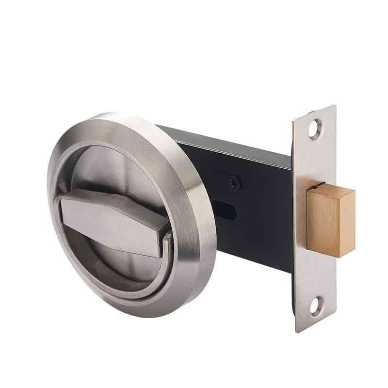 Stainless Steel Handle Recessed Invisible Keyless Mechanical Outdoor Lock
