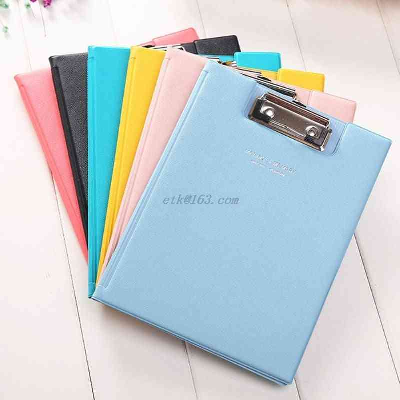 A5 Waterproof Clipboard, Writing Pad File Document Holder
