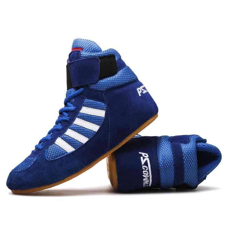 Athletic Training Wrestling  Lace-up Sports Shoe