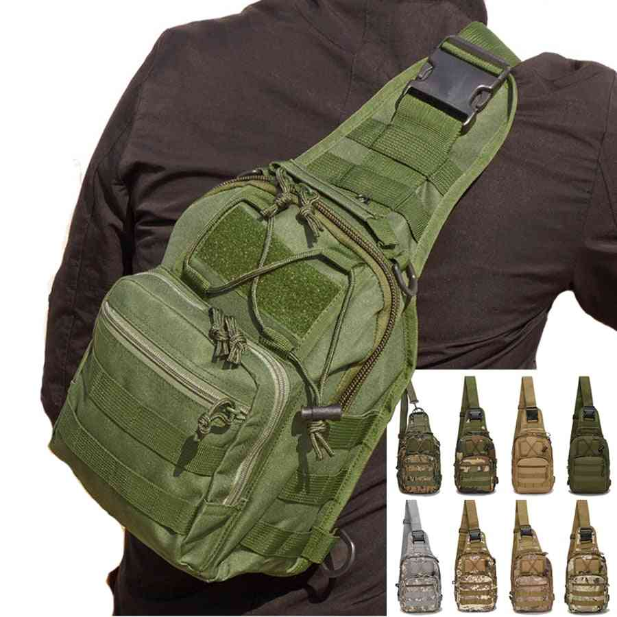 Military Sling Tactical Shoulder Bag For Camping Outdoor Sports