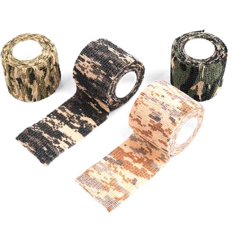 Four Camouflage Series Of Mixed Adhesive Tape, Waterproof Camping Shooting Tool