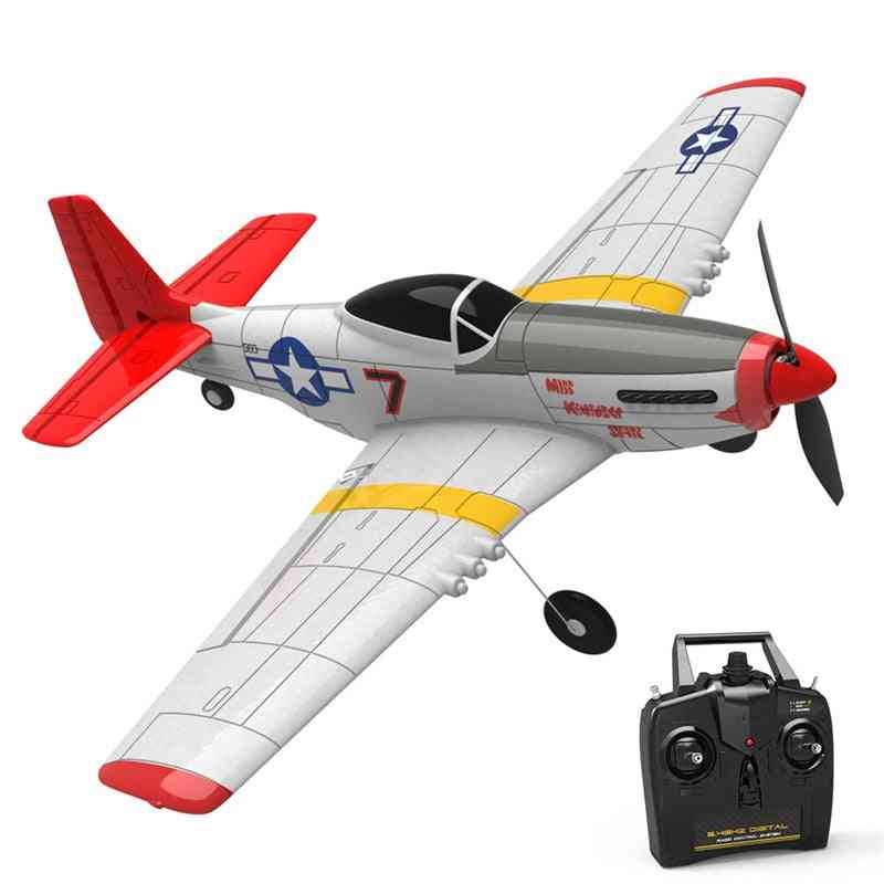 Mini  Wingspan Remote Control Rc Airplane Trainer Fixed Wing Rtf Return For Beginner