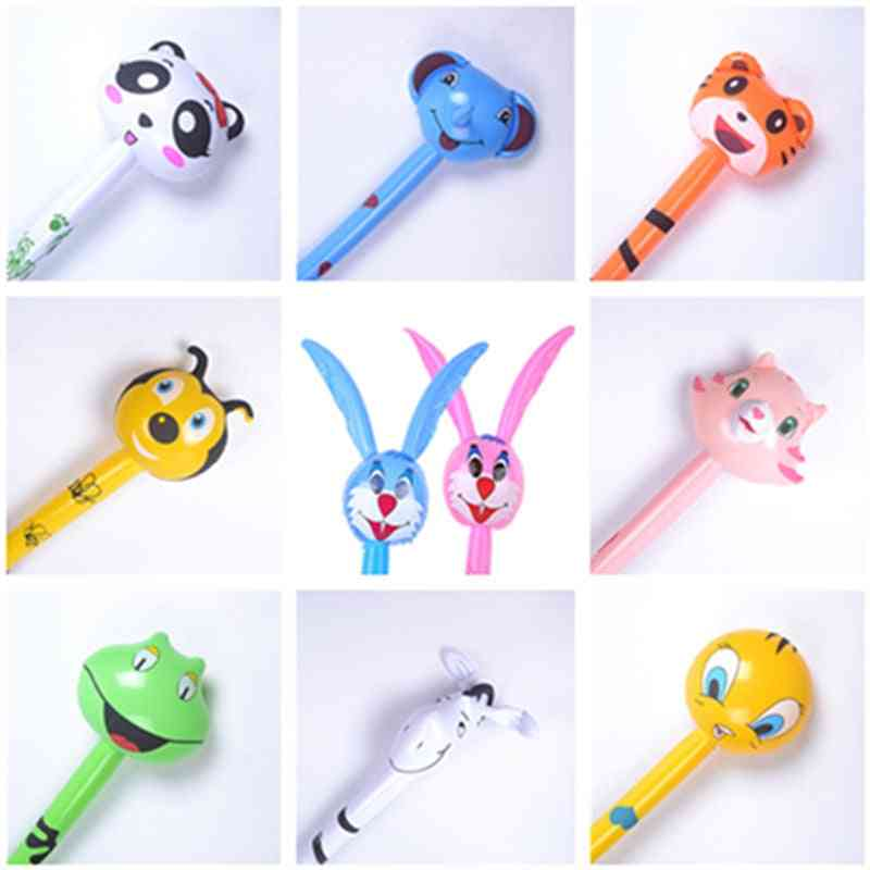 Cartoon Animal Long Inflatable Hammer No Wounding Weapon Stick