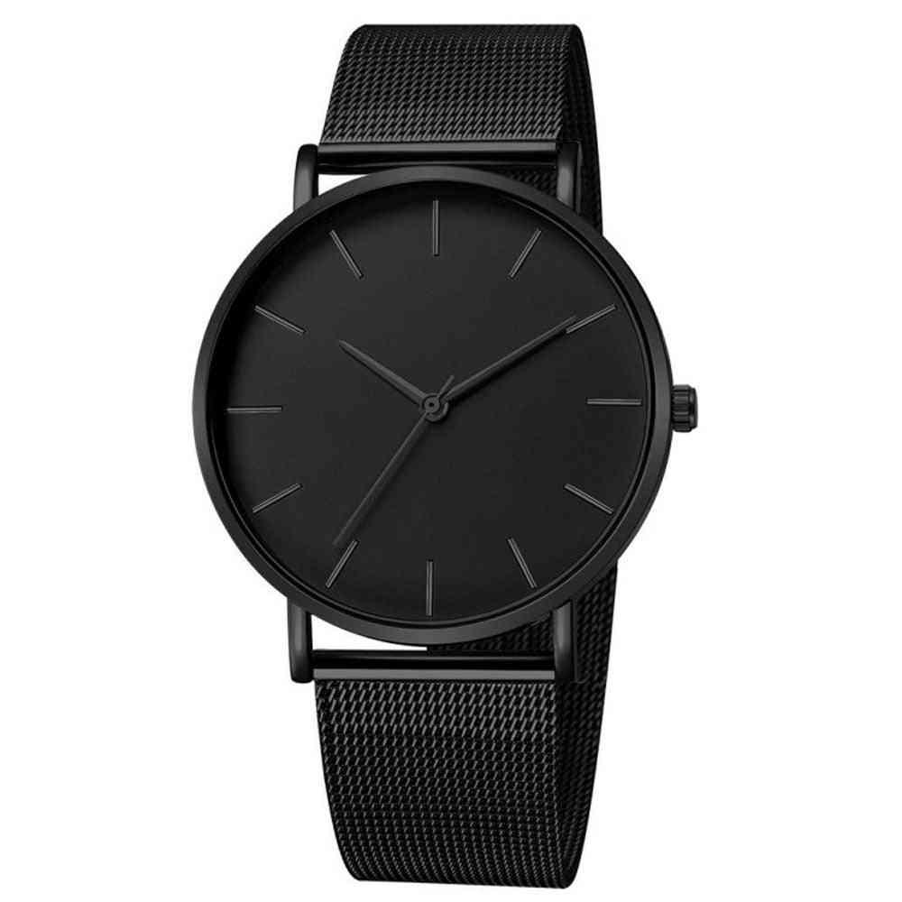 Women's Mesh Belt Ultra-thin Quartz Watches