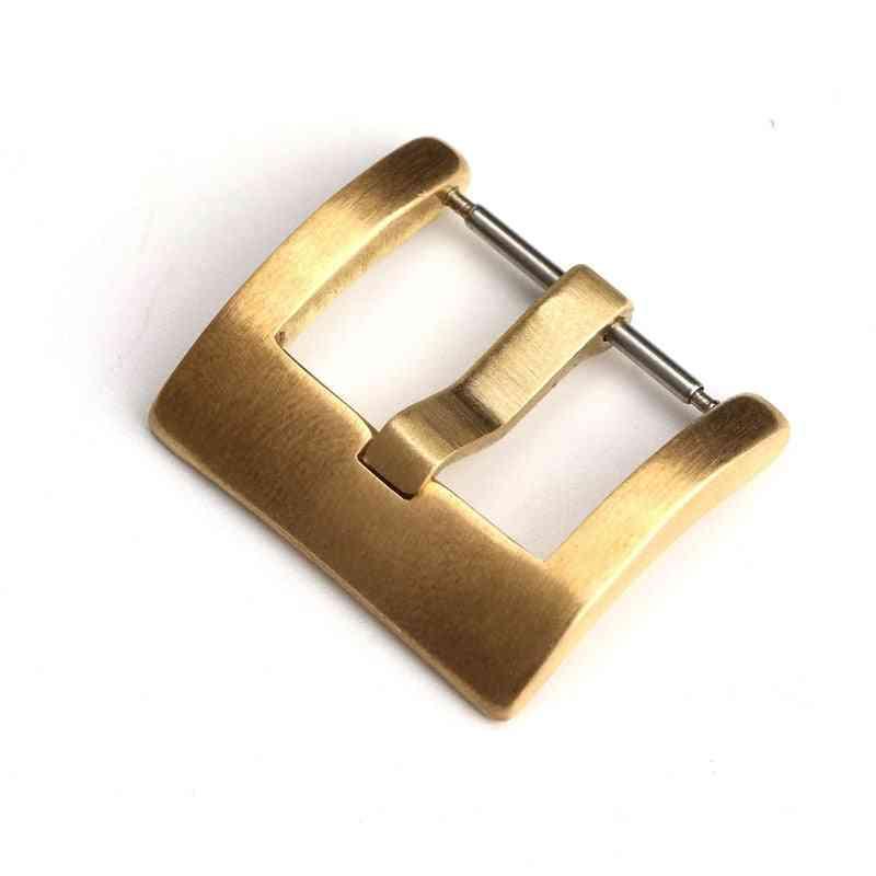 Adaptation Mechanical Bronze Leather Watchband Buckle