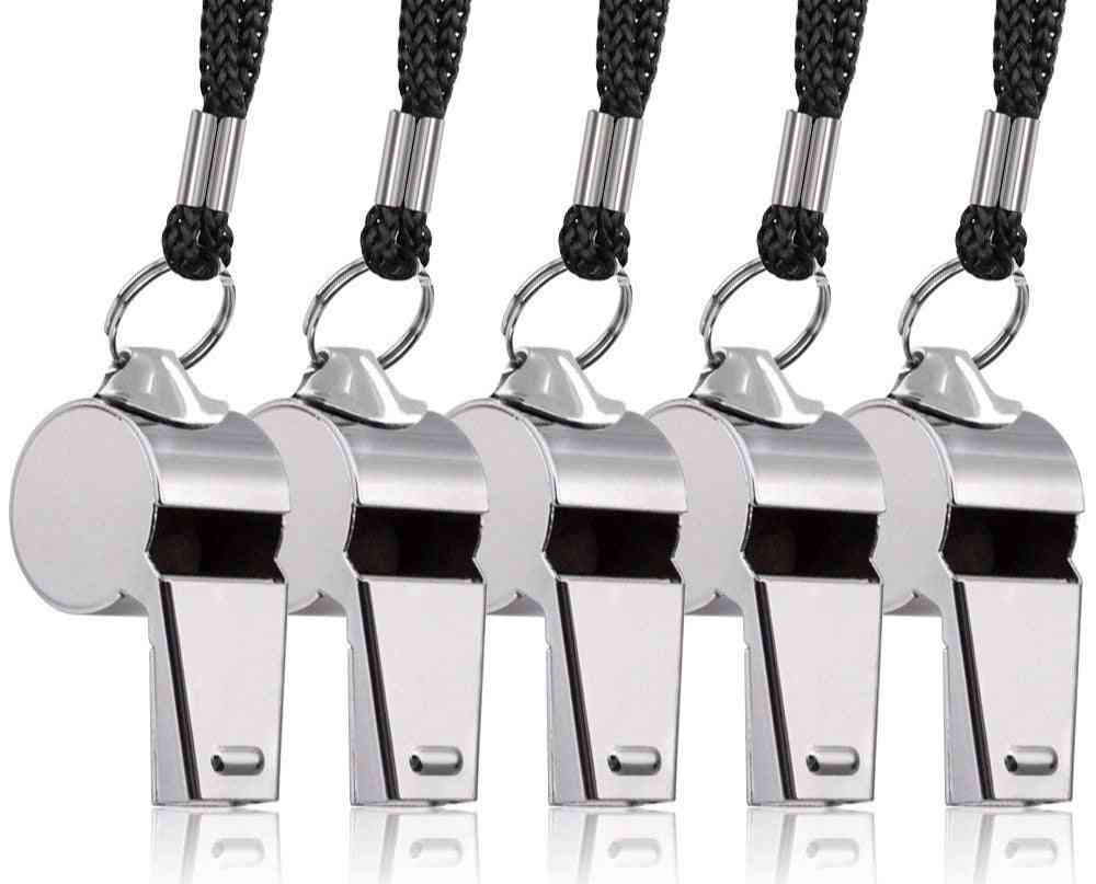 Stainless Steel Referee Judge Whistle