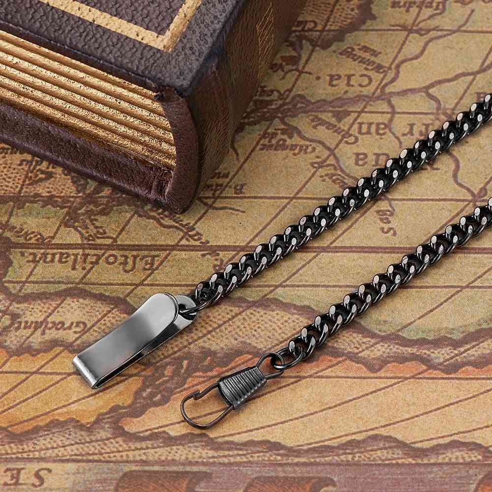 Stainless Steel Chain For Mechanical Pocket Watch