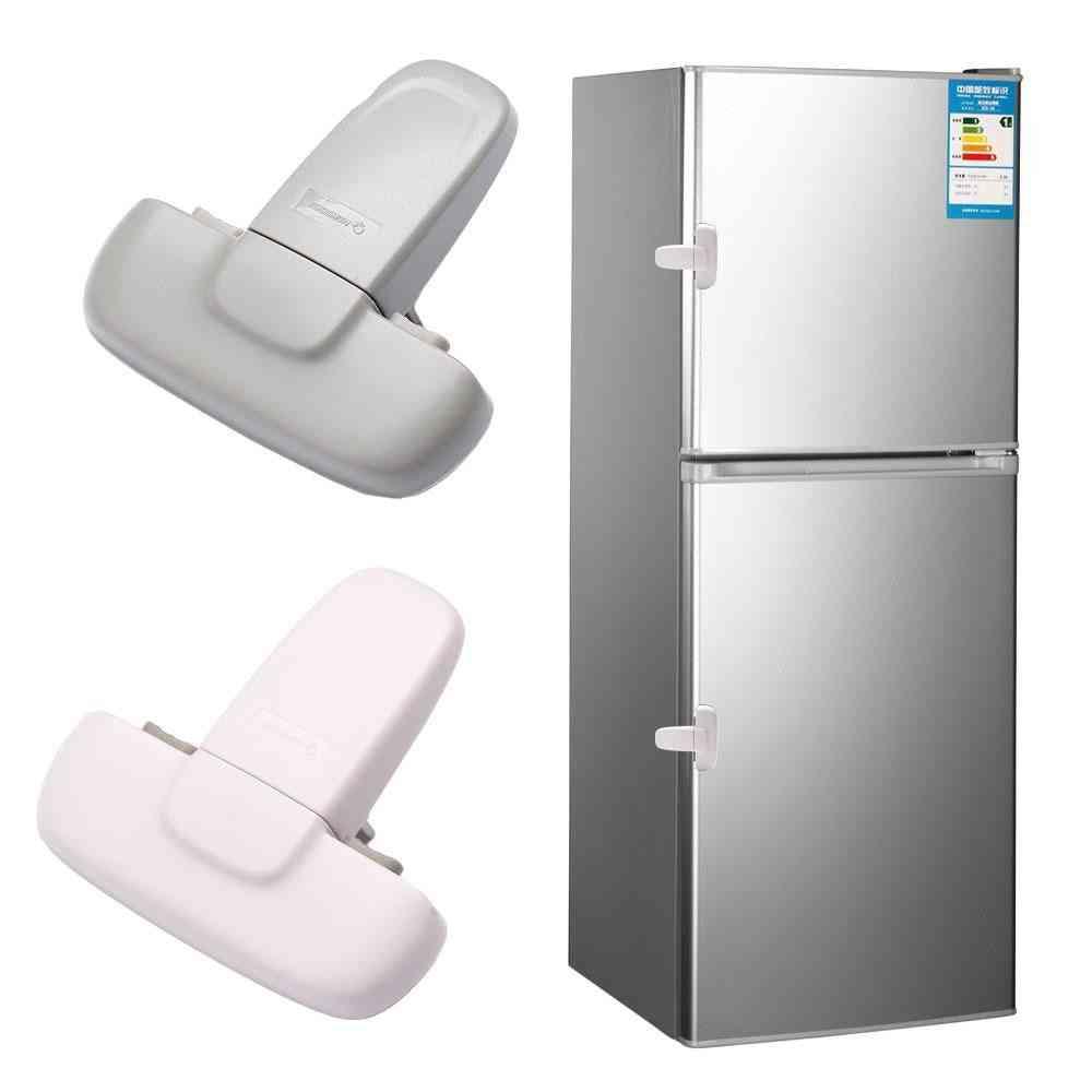 Home Refrigerator, Fridge, Freezer, Door Catch Lock, Cabinet Safety Lock