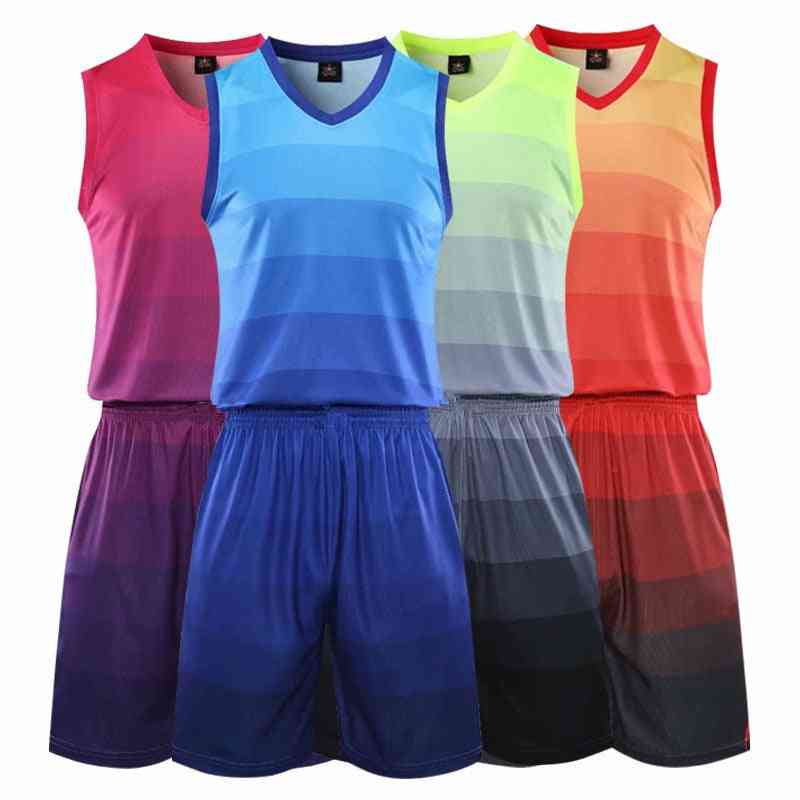 Men's Outdoor Comfortable And Breathable Sports Basketball Jersey