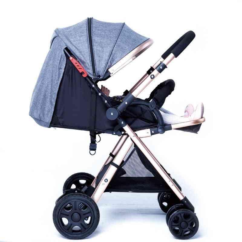 Portable Baby Trolley, Suspension Folding Umbrella Car Pocket Bike