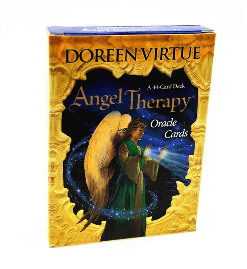 Angel Therapy Oracle Cards, Tarot Deck Board Game English Version Table Game