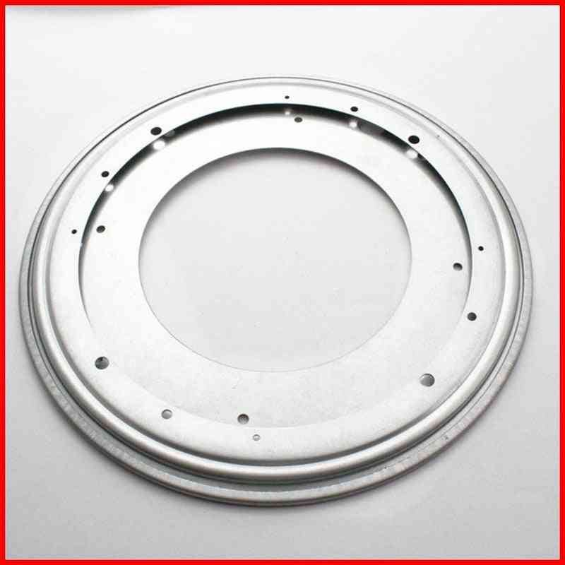 Round Rotating Turntable Lazy Susan Ball Bearing Metal Swivel Plate