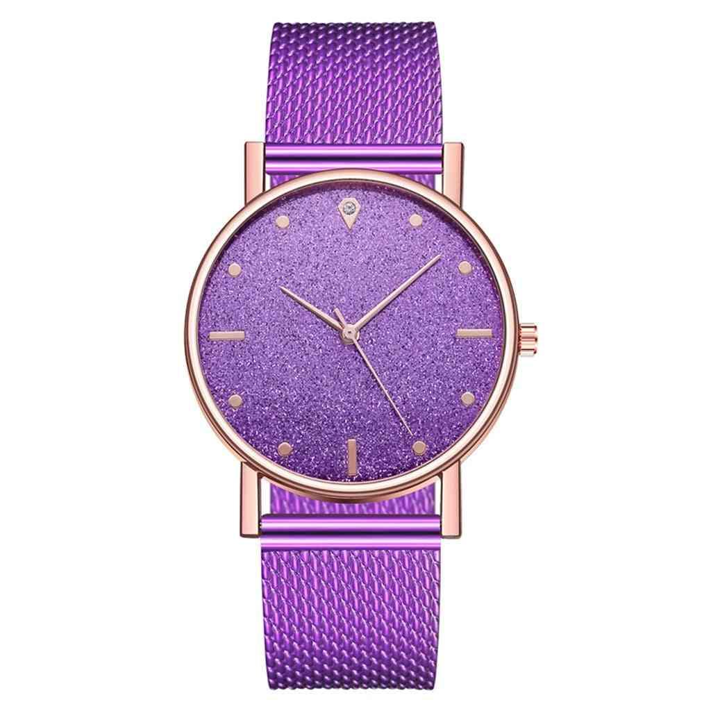 Luxury Quartz Braceletes Stainless Steel Dial Casual Bracelet Watch