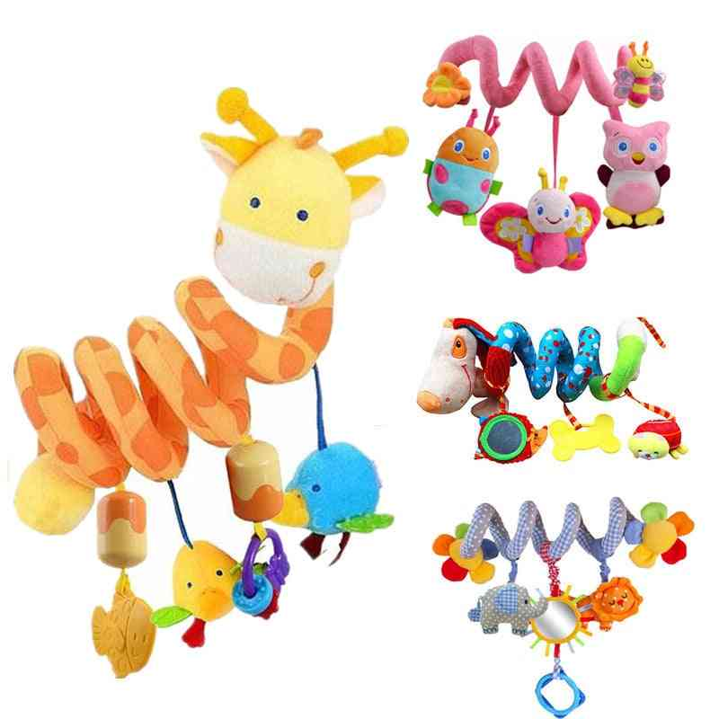 Baby Rattles Educational Toddlers Bell Playing Kids Stroller Hanging Dolls