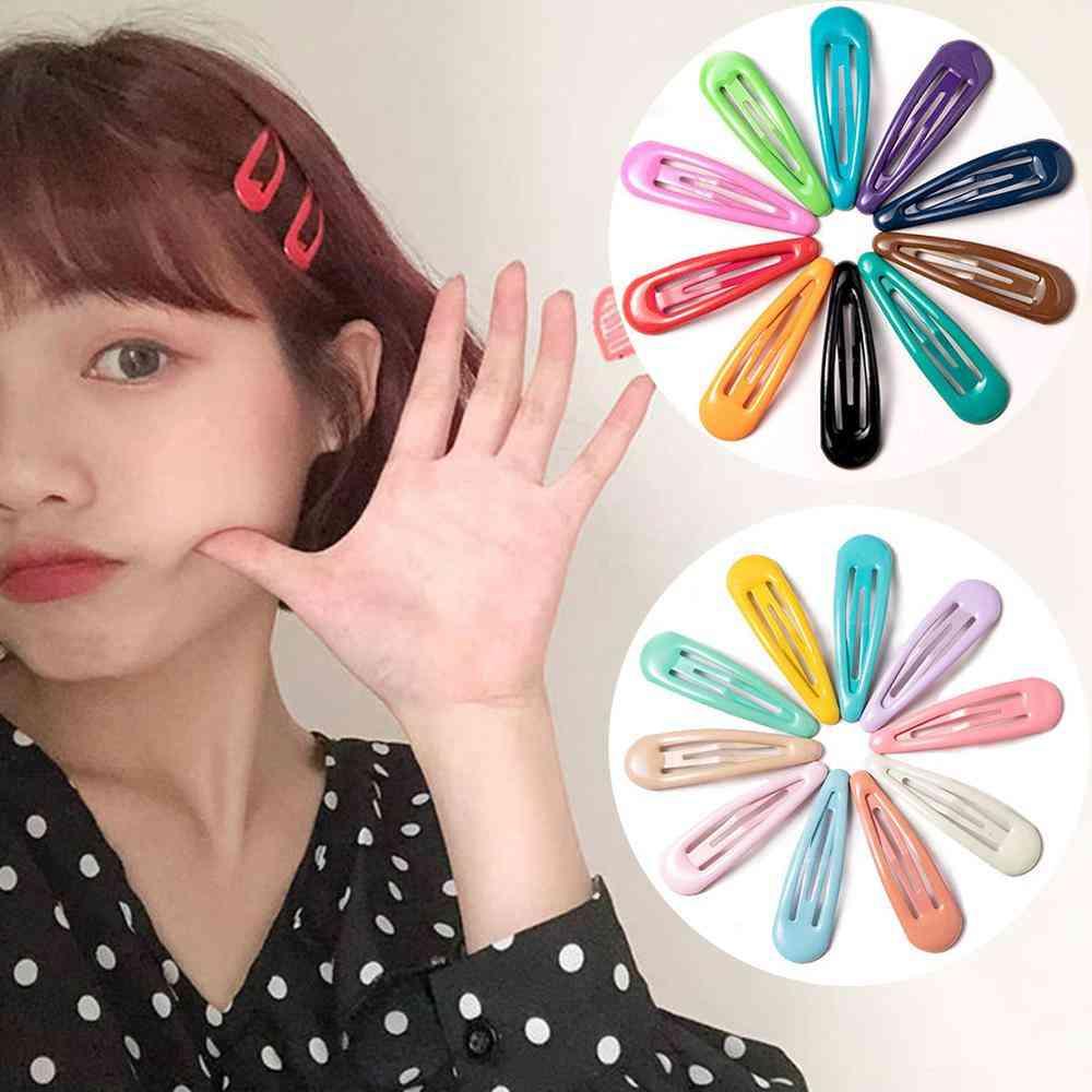 Snap Hair Clips Bb Hairpins