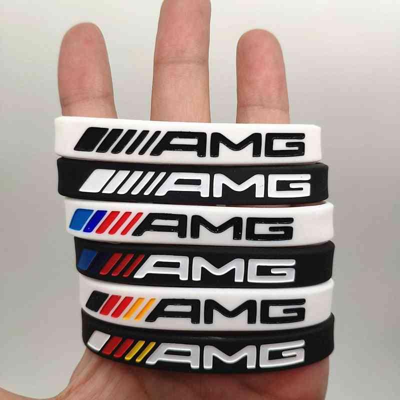 Silicone Bracelet Men-women Wristband Wrist Bangle