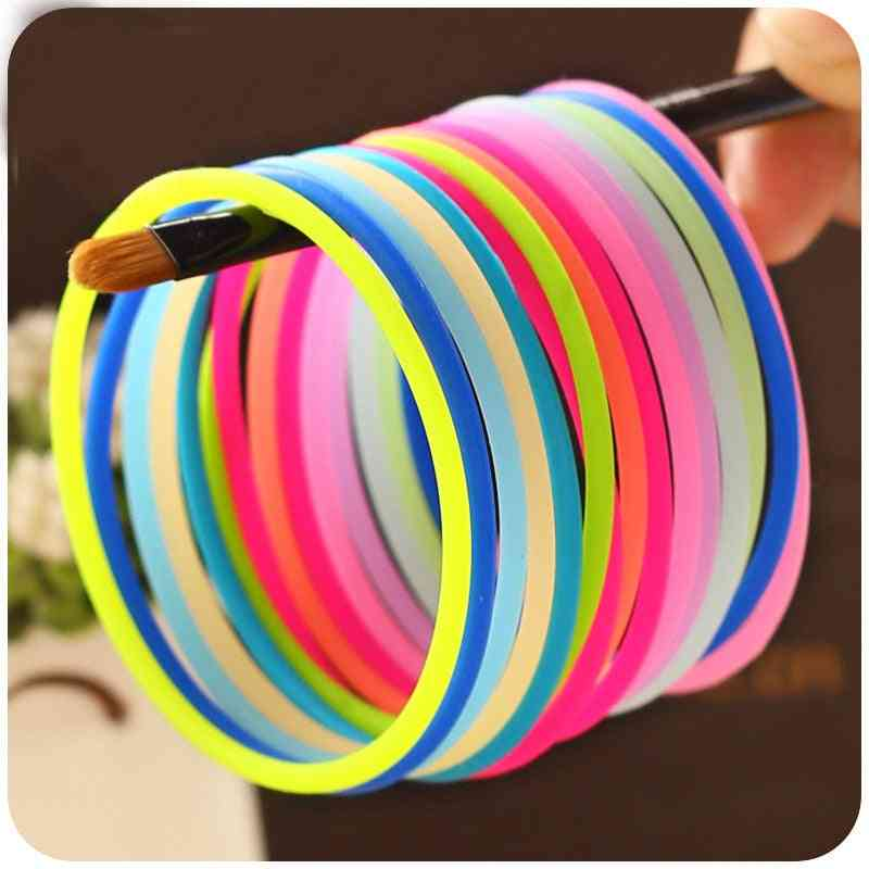 Colors Glow Bracelet Elastic Hair Bands